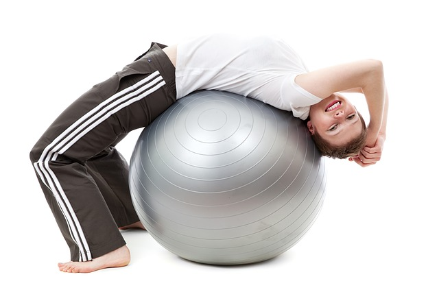 træning på bold