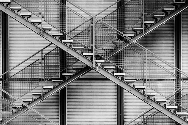 trapper udenfor