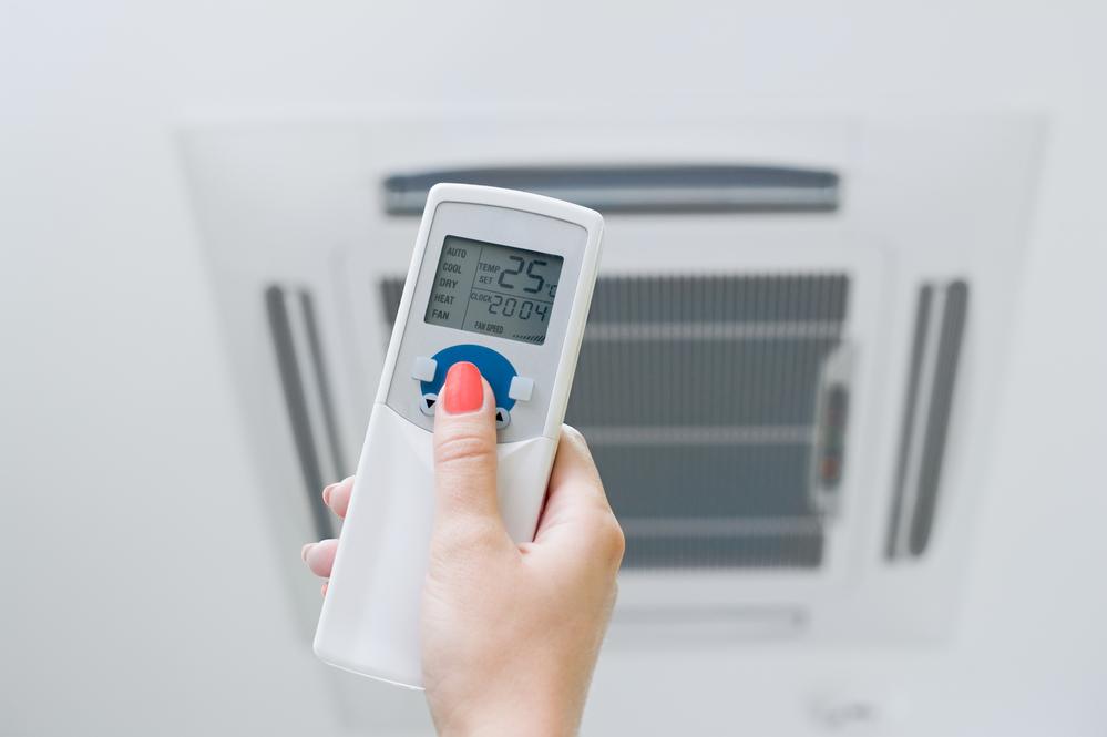 varmepumpe kontrol